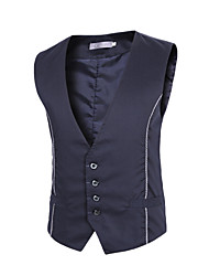 Men's Spring and Autumn  A Formal Sleeveless Vest