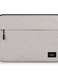 "Sleeve for Macbook 13"" Macbook Air 11""/13"" MacBook Pro 13""/15"" with Retina display Solid Color Textile Material Waterproof Shockproof Notebook"