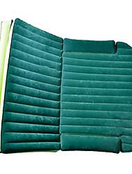 Автомобиль матрац воздушный кровать двойной (180 * 128 * 12 см) flocking портативные надувные удобные