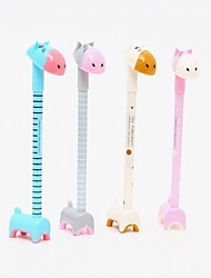 Lovely Hippo Modelling Plastic Cartoon Craft BallPoint Pen