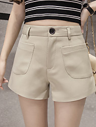 2017 new casual shorts female was thin outer wear leggings pants wide leg pants A word