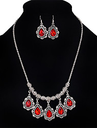The Latest European And American Fashion Jewelry Sets Necklace Earring