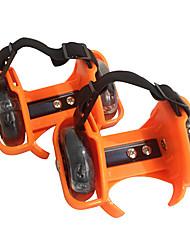 Kid's Inline Skates Skatecycle Anti-Slip Cushioning Adjustable Size Wearproof Adjustable One size fits allBlack/Orange/Rose