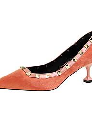 Women's Heels Spring Fall Comfort Horse Hair Dress Stiletto Heel