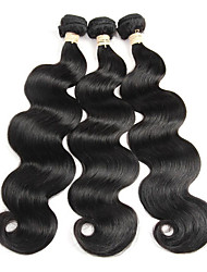 Brazilian  Virgin Hair Bundles Afro Body Wave Cheap Human Hair Brazillian Body Wave Virgin Hai Weaves