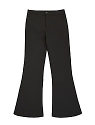 Women's High Rise Stretchy Jeans Pants,Vintage Loose Bootcut Solid