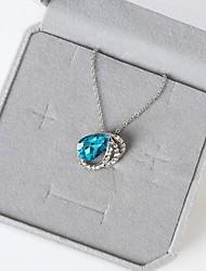 Pendant Necklaces Alloy Rhinestone Euramerican Fashion Teardrop Jewelry Women's Daily Casual 1pc