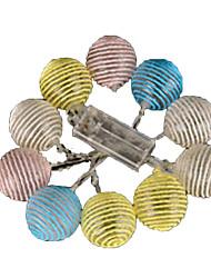 5W W Cordões de Luzes lm <5V 4 m 20 leds Branco Quente RGB