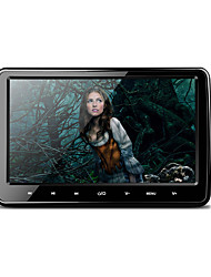 10.1 polegadas 1024 * 600 hd digitais tft tela ultra-fino touch touch botão carro headrest dvd player com usb / sd / fm / ir / wireless