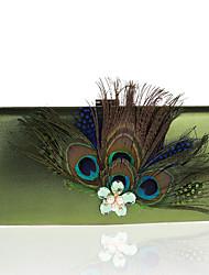 Mulher Bolsas Primavera Verão Outono Inverno Todas as Estações Poliéster Bolsa de Festa com Pérolas Sintéticas Cristal / Strass Flor para