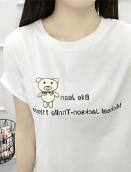 Signe 2017 du nouveau t-shirt logo panda, spot