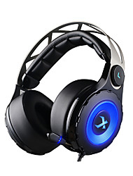 cuffie headset xiberia T18 gioco over-ear usb 7.1 guidato headsts di gioco con il microfono retrattile per PC Gamer