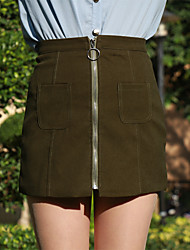 Real shot season spring models suede skirt A dress line skirt leather skirt waist skirt High School