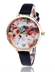 New Fashion Floral Flower Watch Garden Beauty Bracelet Women Wrist Watch Luxury Quartz Watch Gift Relogio Feminino