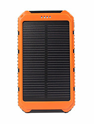 SUNWALK Portable Solar Charger Power Bank 5000mAh Dual USB Solar Battery Backup External Battery for Cell Phone