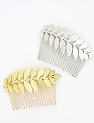 Alloy Headpiece-Wedding Special Occasion Casual Outdoor Flowers Wreaths Hair Clip Hair Stick Hair Tool 1 Piece