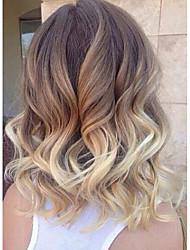 vague 8-26inch avec des perruques avant de dentelle de cheveux de bébé T1B / 4/27 100% cheveux humains perruque vierge brazilian u partiel