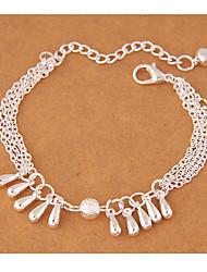 Femme Charmes pour Bracelets Mode Alliage Goutte Argent Bijoux Pour Soirée 1pc