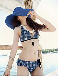 Mujer Verano Bonito Casual Paja Sombrero de Paja Sombrero para el sol,Un Color