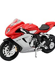 Moto Jouets Jouets de voiture 1:18 ABS Plastique Arc-en-ciel