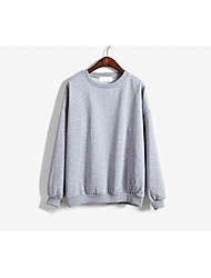 versão coreana do primavera grandes estaleiros solta selvagem cor sólida manga comprida camisa blusas influxo de mulheres de grande porte
