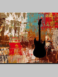 Hand Painted Modern Abstract Oil Painting On Canvas Memory Instrument Wall Picture For Home Decoration Ready To Hang