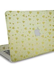 For MacBook Air 11 13/Pro13 15/Pro with Retina13 15/MacBook12 Flash Love Texture Decorative Skin Sticker