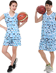 Unisex Soccer Clothing Sets/Suits Breathable Comfortable Spring Summer Fall/Autumn Winter Snowflake Terylene Basketball Football/Soccer