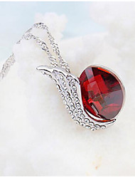 Women's Pendant Necklaces Crystal Chrome Unique Design Euramerican Fashion Personalized Luxury Jewelry ForWedding Party Birthday