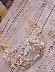 Alliage imitation perle headpiece-mariage occasion spéciale tiaras extérieurs 1 pièce