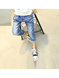 Boys' Casual/Daily Solid Pants Spring Fall