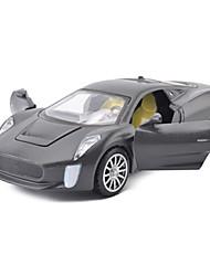 Bauernhoffahrzeuge Aufziehbare Fahrzeuge Auto Spielzeug 1:25 Metall Rot Schwarz Gelb Model & Building Toy