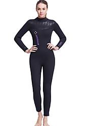 Esportivo Mulheres 5mm Roupas de mergulho Respirável Secagem Rápida Design Anatômico Permeável á Humidade Compressão NeopreneFato de