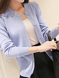 2016 Spring new minimalist air-conditioned shirt knit cardigan female fashion wild thin shawl jacket