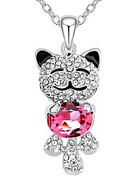 Women's Pendant Necklaces Jewelry Animal Shape Chrome Unique Design Animal Design Jewelry For Gift Casual 1pc