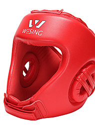 Solid PU/EVA Sports Protective Boxing Headgear
