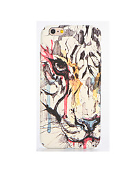 Para Brilha no Escuro Com Relevo Estampada Capinha Capa Traseira Capinha Animal Macia TPU para AppleiPhone 7 Plus iPhone 7 iPhone 6s Plus