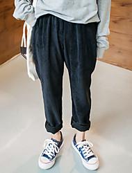 2016 signe les femmes d'hiver coréen sarouel vrac pantalons longs loisirs étudiant sauvage velours côtelé