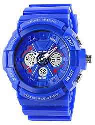 SKMEI 0966 la femme de montres hommes montagne montre de sport en plein air important double escalade imperméable mâle montre électronique