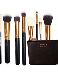 New Eight Elegant Classic Black Makeup Brush Brush Set Of High Level Fashion Appearance Beginners Essential Professional Makeup Brush