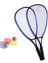 Raquettes de Badminton Volants de plumes Indéformable Haute élasticité Durable Fibre de carbone 1 Pièce pour Extérieur Sport de détente