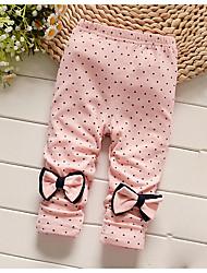 Baby Casual/Daily Polka Dot Pants,Cotton All Seasons