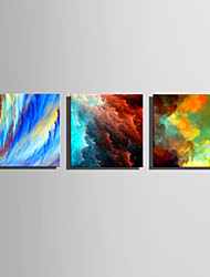 E-HOME® Stretched Canvas Art Colorful Sky Series Decoration Painting MINI SIZE One Pcs