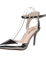 Women's Heels Spring Summer Club Shoes Gladiator Novelty Fleece Wedding Party & Evening Dress Casual Chunky Heel Beading Buckle