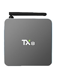 TX8 Amlogic S912 Android Box TV,RAM 2GB ROM 32Go Huit Cœurs WiFi 802.11n Bluetooth 4.0