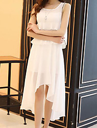 Temperament Slim was lanky Dress summer dress Bohemian chiffon dress summer sleeveless vest cents