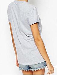 Ebay, aliexpress, quente, novo, palavra, letras, impresso, t-shirt, volta, pescoço, sexy, femininas, curto, luva, t-shirt, mulheres