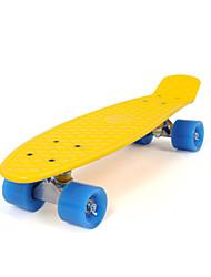 PP (polipropilene) Per bambini Skateboards standard 22 pollici Professionale Nero Giallo Rosso Blu Rosa