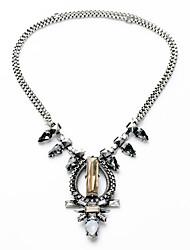 Colliers de femmes bijoux irréguliers chrome euramerican pour cadeau valentine 1pc