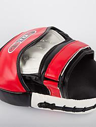 Entraînement de force noir / rouge sanda / boxing pu boxing pad